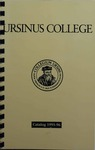 1995-1996 Ursinus College Course Catalog by Office of the Registrar