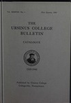 Ursinus College Catalogue, 1939-1940
