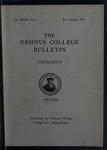 Ursinus College Catalogue, 1937-1938
