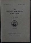 Ursinus College Catalogue, 1936-1937