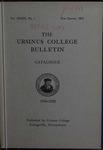 Ursinus College Catalogue, 1934-1935