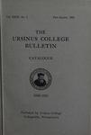 Ursinus College Catalogue, 1930-1931