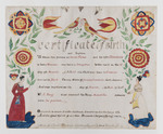 Birth and Baptism Certificate for Mandilla Fisher