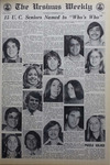 The Ursinus Weekly, November 14, 1974