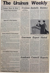 The Ursinus Weekly, November 11, 1976 by Alan Stetler, Sharon Tuberty, Richard P. Richter, Samuel S. Laucks II, Donald R. Whittaker, Steven Schirk, Joseph Saraco, and Mary Beth Kramer