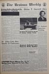 The Ursinus Weekly, April 27, 1972