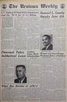 The Ursinus Weekly, May 20, 1971