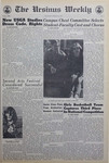 The Ursinus Weekly, March 19, 1970