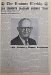The Ursinus Weekly, June 8, 1970