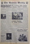 The Ursinus Weekly, October 3, 1968