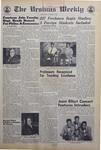 The Ursinus Weekly, October 3, 1968 by Judy Schneider, Alan Gold, Jonathan Weaver, Frederick Jacob, Byron Jackson, Cris Crane, John S. Picconi, and Thomas Miller