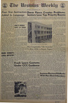 The Ursinus Weekly, September 28, 1967