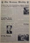 The Ursinus Weekly, November 9, 1967