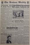 The Ursinus Weekly, January 11, 1968