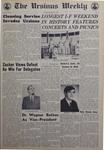 The Ursinus Weekly, May 9, 1968