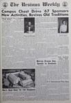 The Ursinus Weekly, April 6, 1967 by Herbert C. Smith, Judy Schneider, Gene Searfoss, and Byron Jackson
