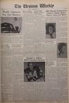 The Ursinus Weekly, December 6, 1965 by Patricia Rodimer, Thomas W. Beaver, Sue Yost, Chuck Broadbent, Jon Katz, and Kenneth MacLeod