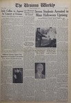 The Ursinus Weekly, November 2, 1964