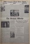 The Ursinus Weekly, April 19, 1965