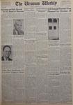 The Ursinus Weekly, October 14, 1963 by Sharon E. Robbins, Barbara Gettys, Lenard Footland, Susan Bell, John Bradley, Craig Garner, Robert Livingston, and Charles Spencer