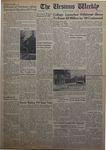 The Ursinus Weekly, October 1, 1962