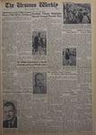 The Ursinus Weekly, October 8, 1962