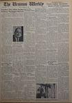 The Ursinus Weekly, October 29, 1962