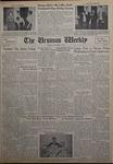 The Ursinus Weekly, November 12, 1962