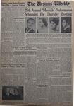 The Ursinus Weekly, December 3, 1962