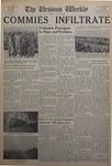 The Ursinus Weekly, October 29, 1956