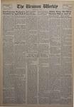 The Ursinus Weekly, April 22, 1957 by Walter W. Montgomery, Arthur King, Lawrence C. Foard, Roger Cole, Robert Pauli, and Barbara DeGeorge