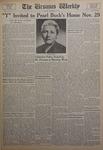 The Ursinus Weekly, November 21, 1955
