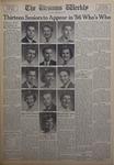 The Ursinus Weekly, January 16, 1956