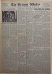 The Ursinus Weekly, April 23, 1956