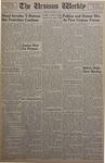 The Ursinus Weekly, October 18, 1954