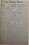The Ursinus Weekly, January 11, 1954