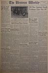 The Ursinus Weekly, October 13, 1952