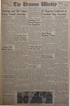 The Ursinus Weekly, October 27, 1952