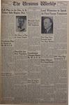 The Ursinus Weekly, November 24, 1952