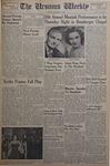 The Ursinus Weekly, December 8, 1952