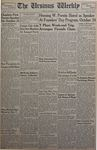 The Ursinus Weekly, October 15, 1951