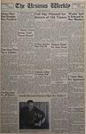 The Ursinus Weekly, October 22, 1951