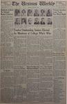The Ursinus Weekly, January 7, 1952