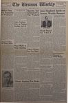 The Ursinus Weekly, April 14, 1952