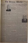 The Ursinus Weekly, June 2, 1952