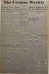 The Ursinus Weekly, October 3, 1949