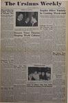 The Ursinus Weekly, October 24, 1949 by Betty Leeming, Fred Nicholls, Doris Fite, Dick Hector, George E. Saurman, Ford Bothwell, Bill Helfferich, Roy Foster, and Susanne Deitz