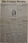 The Ursinus Weekly, November 7, 1949
