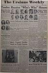 The Ursinus Weekly, December 12, 1949