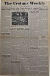 The Ursinus Weekly, November 1, 1948